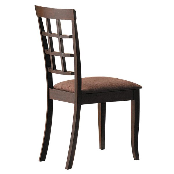 Malcom Solid Wood Dining Chair (Set of 2) by Winston Porter