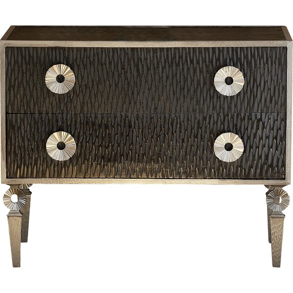 Artisan 2 Drawer Accent  Chest By Global Views