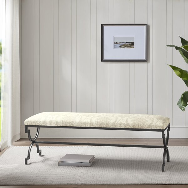 Cedar Gate Metal Bench by Martha Stewart Martha Stewart