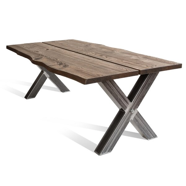 Newkirk X Solid Wood Dining Table by Foundry Select Foundry Select