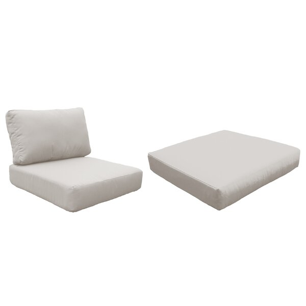 Monaco Indoor/Outdoor Cushion Cover by TK Classics