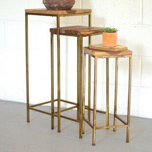 Lexington 3 Piece Nesting Table by Union Rustic