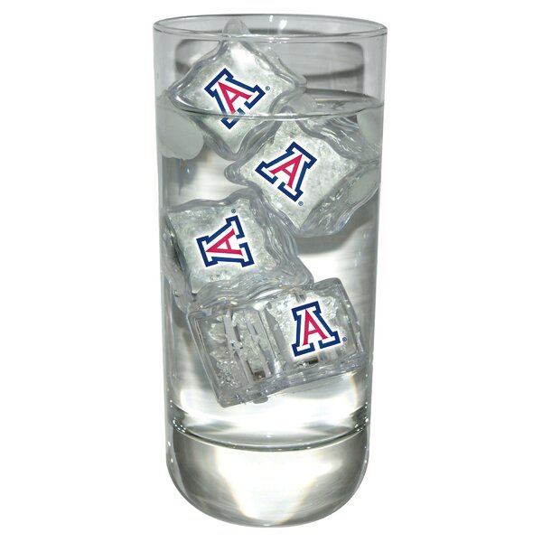 NCAA Light Up Ice Cubes (Set of 4) by Team Sports America