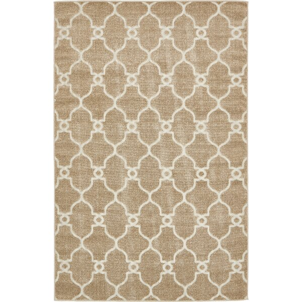 Garrity Brown Indoor/Outdoor Area Rug by Charlton Home