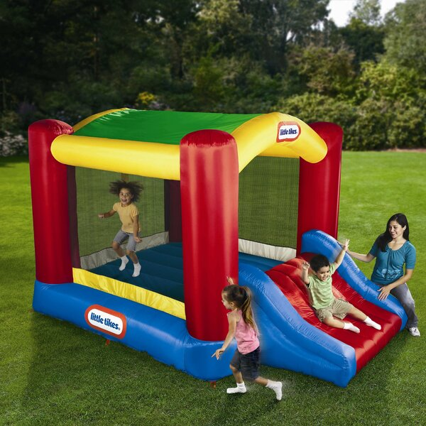 Shady Jump N Slide Bounce House By Little Tikes.