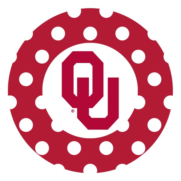 University of Oklahoma Dots Collegiate Coaster (Set of 4) by Thirstystone