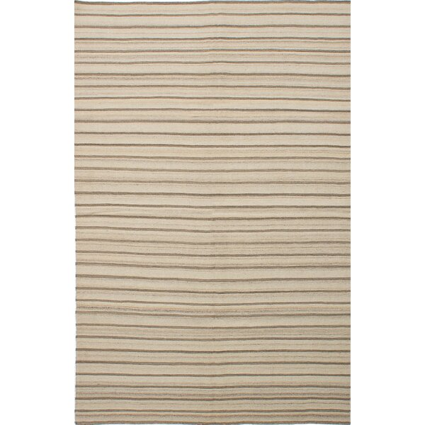 Rollins Handmade Brown/Beige Area Rug by Union Rustic