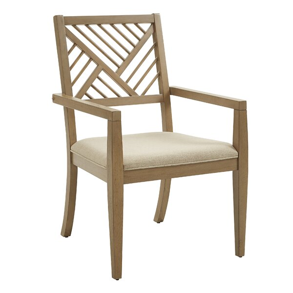 Hoosier Upholstered Dining Chair (Set of 2) by Gracie Oaks Gracie Oaks