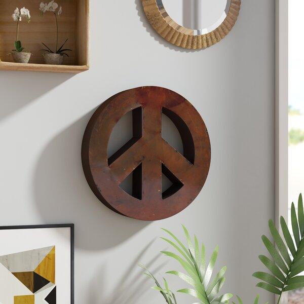 Metal Peace Sign Wayfair