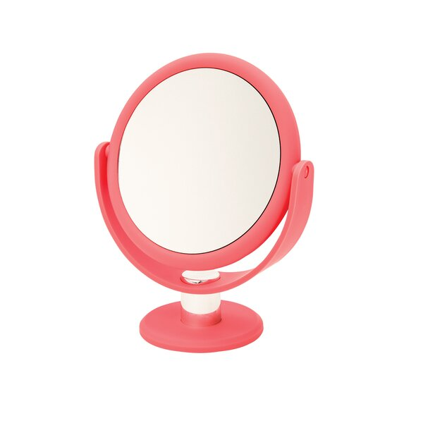 Soft Touch Round Mirror by Danielle Creations