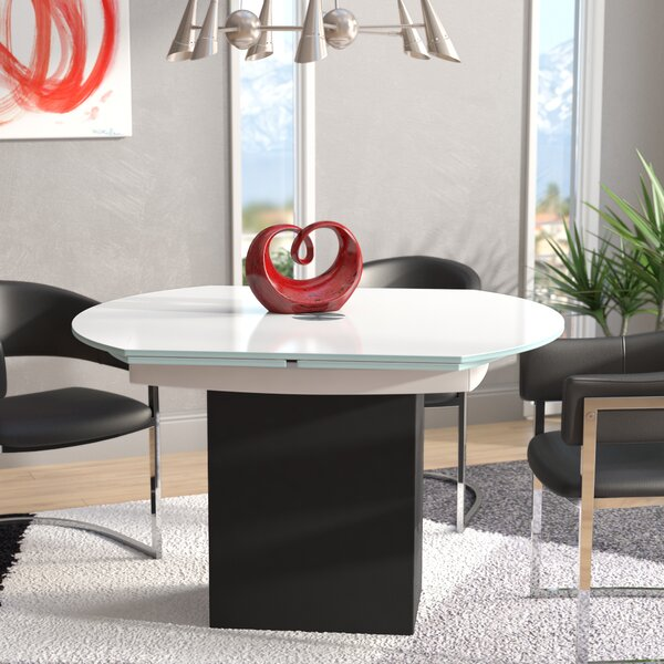 Arche Extendable Dining Table by Orren Ellis