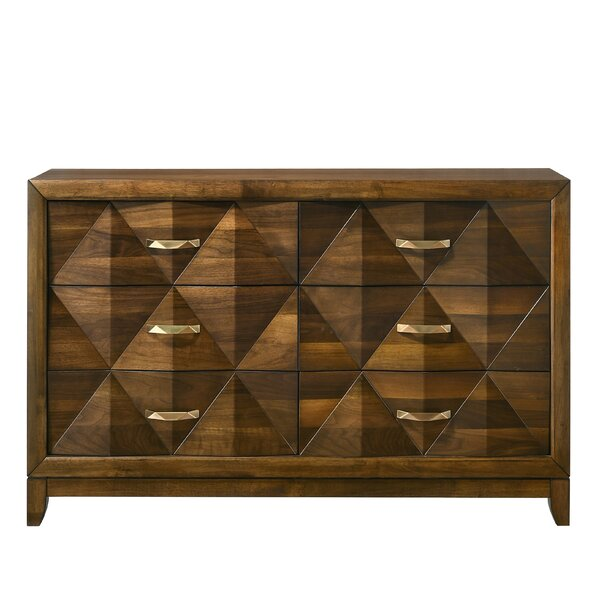 Haider 6 Drawer Double Dresser by Brayden Studio
