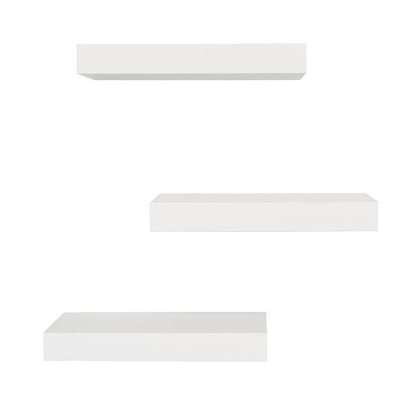 Maine Floating Wall Shelf (Set of 3) by nexxt Desi
