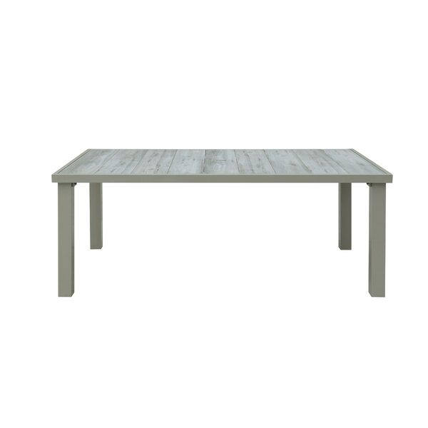 Costas Outdoor Dining Table by Rosecliff Heights