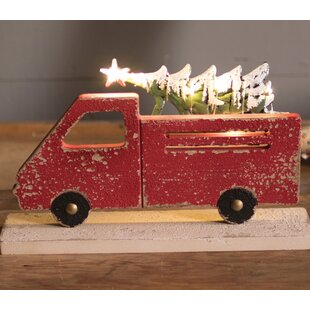 Red Truck Christmas Decor Wayfair