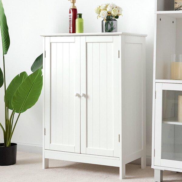 Heddwyn 23.5'' W x 34'' H x 14'' D Free-Standing Bathroom Cabinet