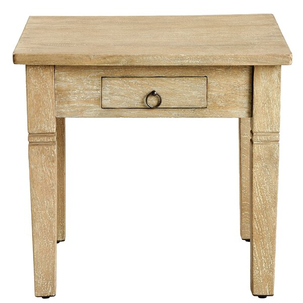 Poulan End Table by Millwood Pines Millwood Pines