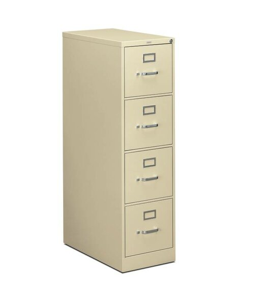 310 Series 4-Drawer Vertical Filing Cabinet by HON
