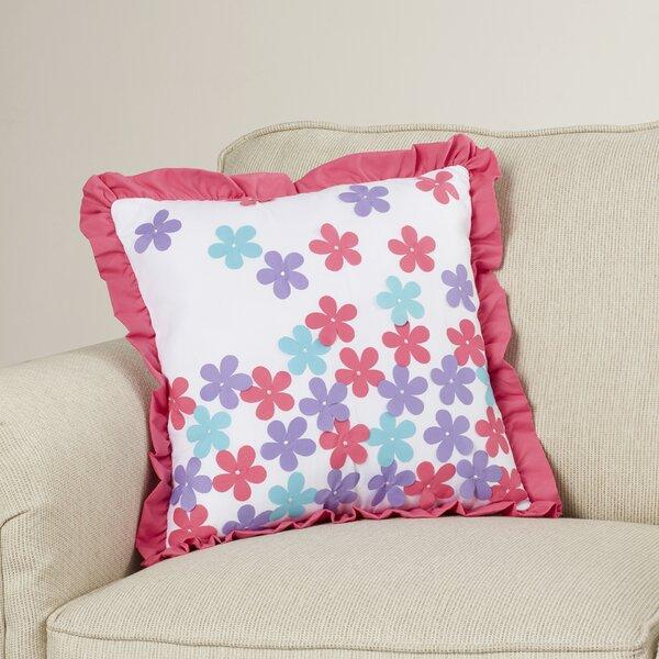 Reb Multi-color Throw Pillow by Viv + Rae