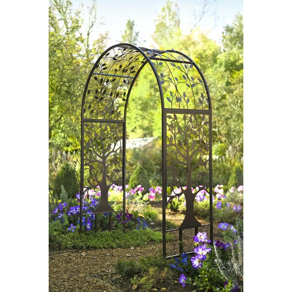 Garden Steel Arbor by Plow & Hearth