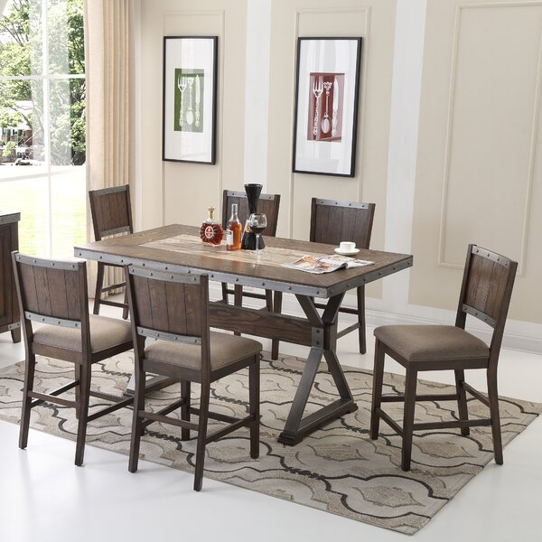 5 Piece Counter Height Dining Set by BestMasterFurniture