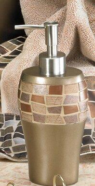 Mosaic Stone Lotion Dispenser by Popular Bath