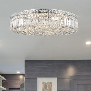 glam lighting. Anjali Glam 9-Light Flush Mount Glam Lighting Y