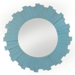 Highland Dunes Abbotford Sunburst Accent Mirror