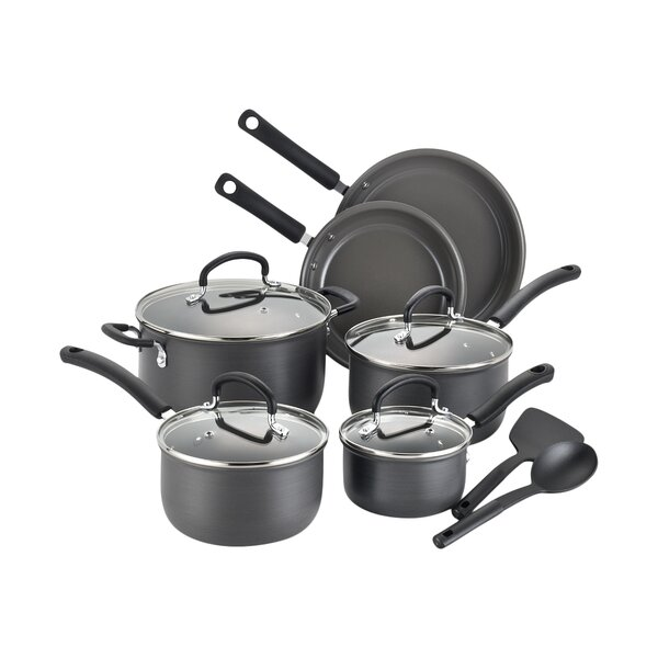 Precision 12 Piece Cookware Set by T-fal