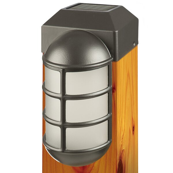 1-Light Fence Post Cap by Paradise Garden Lighting