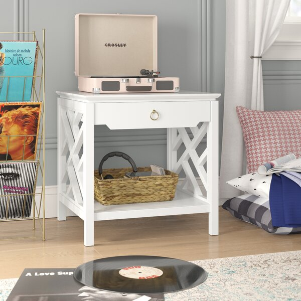 Adam End Table with Storage by Grovelane Teen