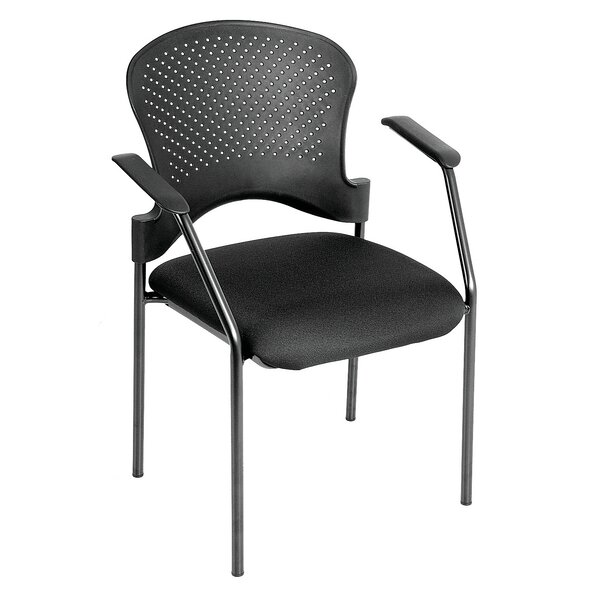 Annapolis 4 Leg Side Chair with Arms by Symple Stuff