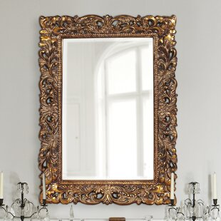 House of Hampton Luise Wall Mounted Rectangle Accent Mirror