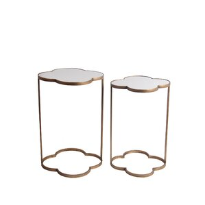 Giuseppina 2 Piece End Table Set by Willa Ar..