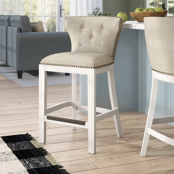Chasteen 25 Bar Stool by Rosecliff Heights