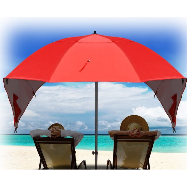 Hartsdale Portable Sun And Weather 7 Beach Umbrella By Highland Dunes.