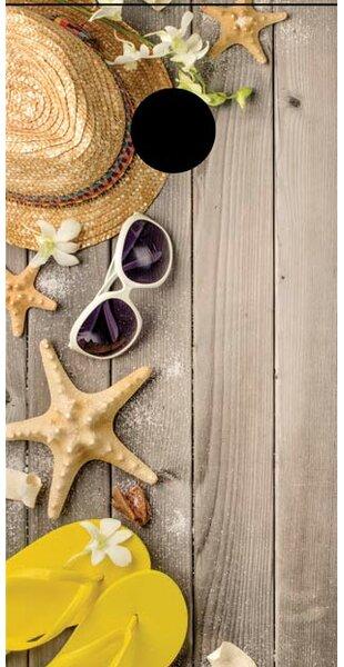 Starfish Cornhole Board by Lightning Cornhole