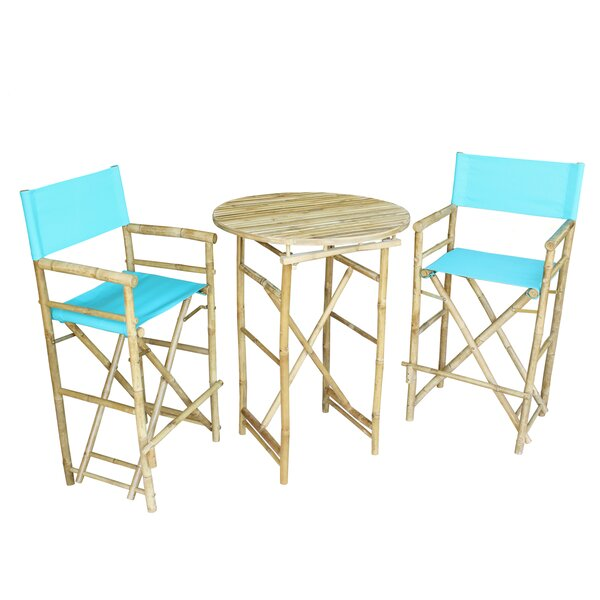 Waterford 3 Piece Bar Height Dining Set by Bay Isle Home