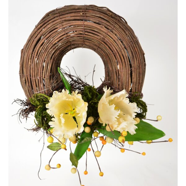 Parrot Tulip 14 Wreath by Fantastic Craft