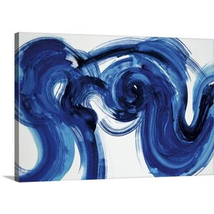 'Flourish' by Randy Hibberd Painting Print on Canvas by Canvas On Demand