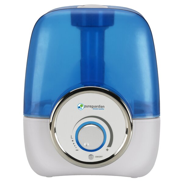 Review And Compare  Pureguardian 1.5 Gal. Cool Mist Ultrasonic Console Humidifier.  Info