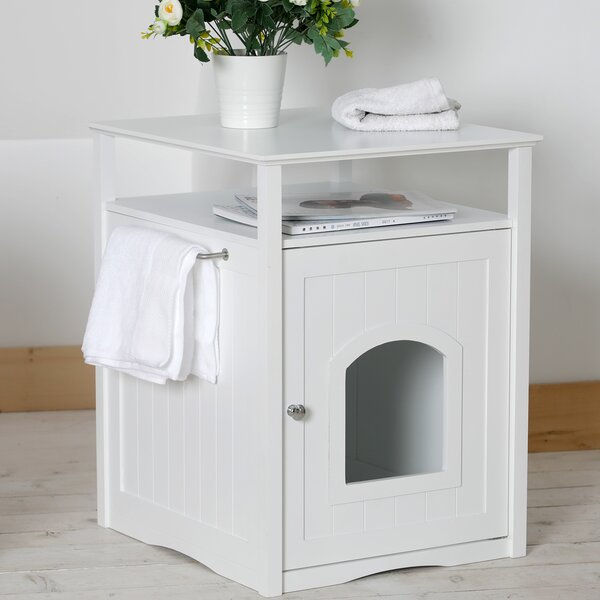 Alfie Litter Box End Table by Archie & Oscar