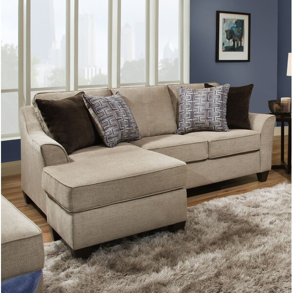 Henslee Reversible Sectional by Alcott Hill