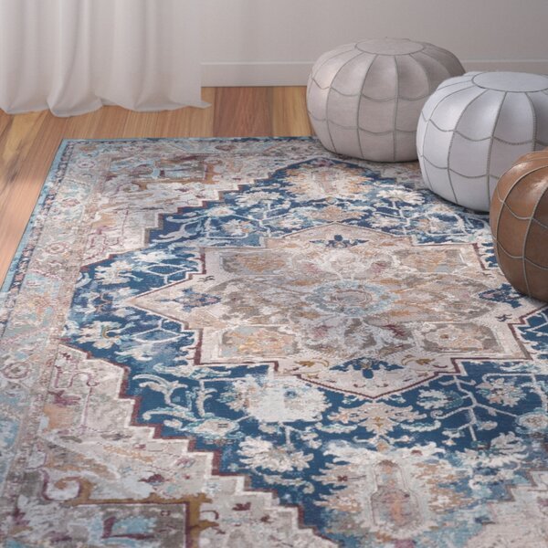 Monserrat Blue Area Rug by Mistana