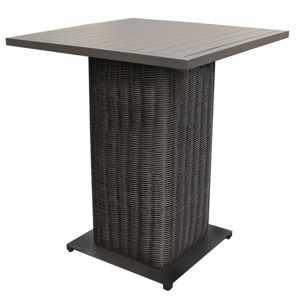 Eldredge Bar Table by Rosecliff Heights