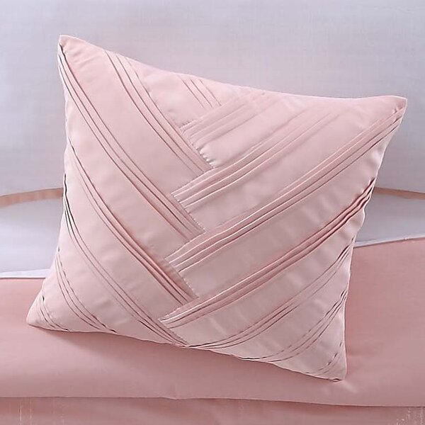 Lyon Blush Decorative Throw Pillow by Vince Camuto