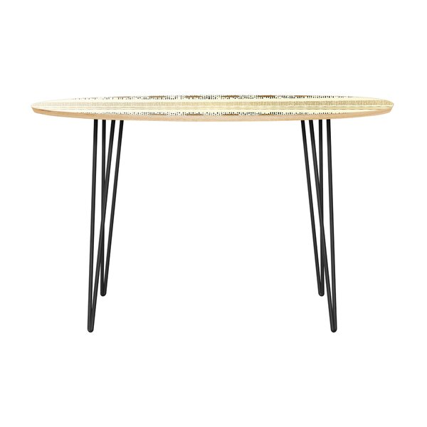 Holtzman Dining Table by Bungalow Rose