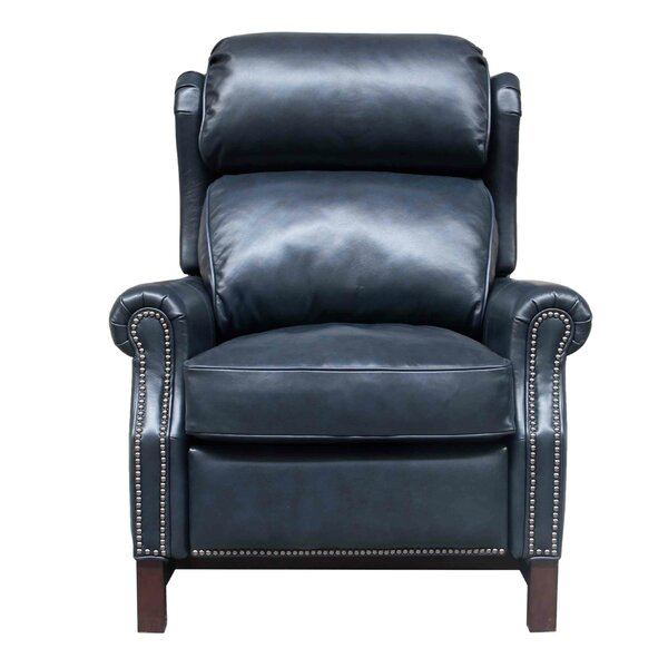 Jazzmyn Leather Manual Recliner By Darby Home Co
