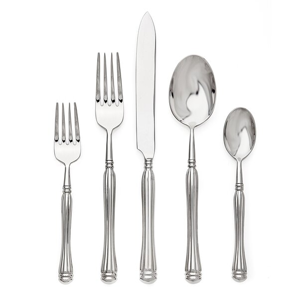 Rovello 5 Piece Flatware Set by Ricci Argentieri