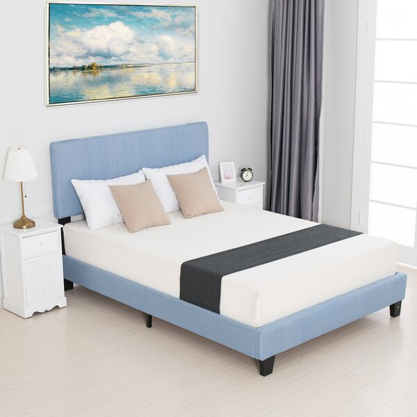 Sayuri Upholstered Platform Bed by Ebern Designs